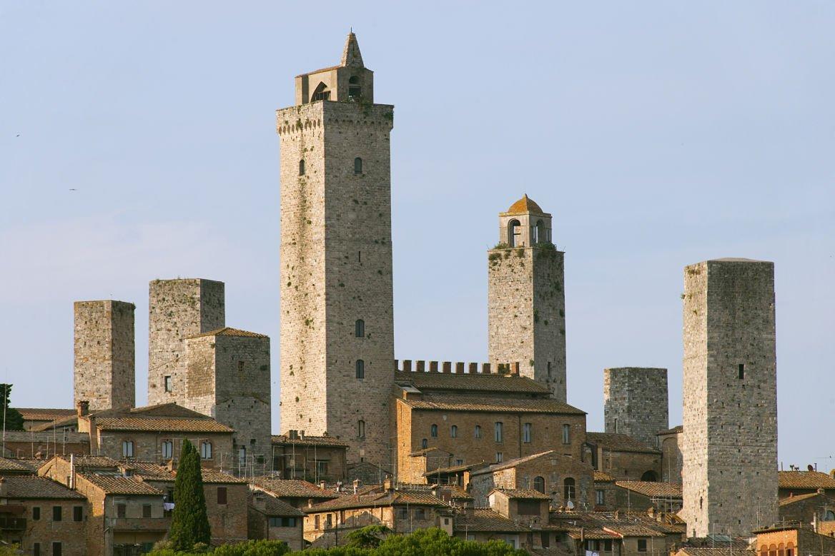 San Gemignano Toscane ville