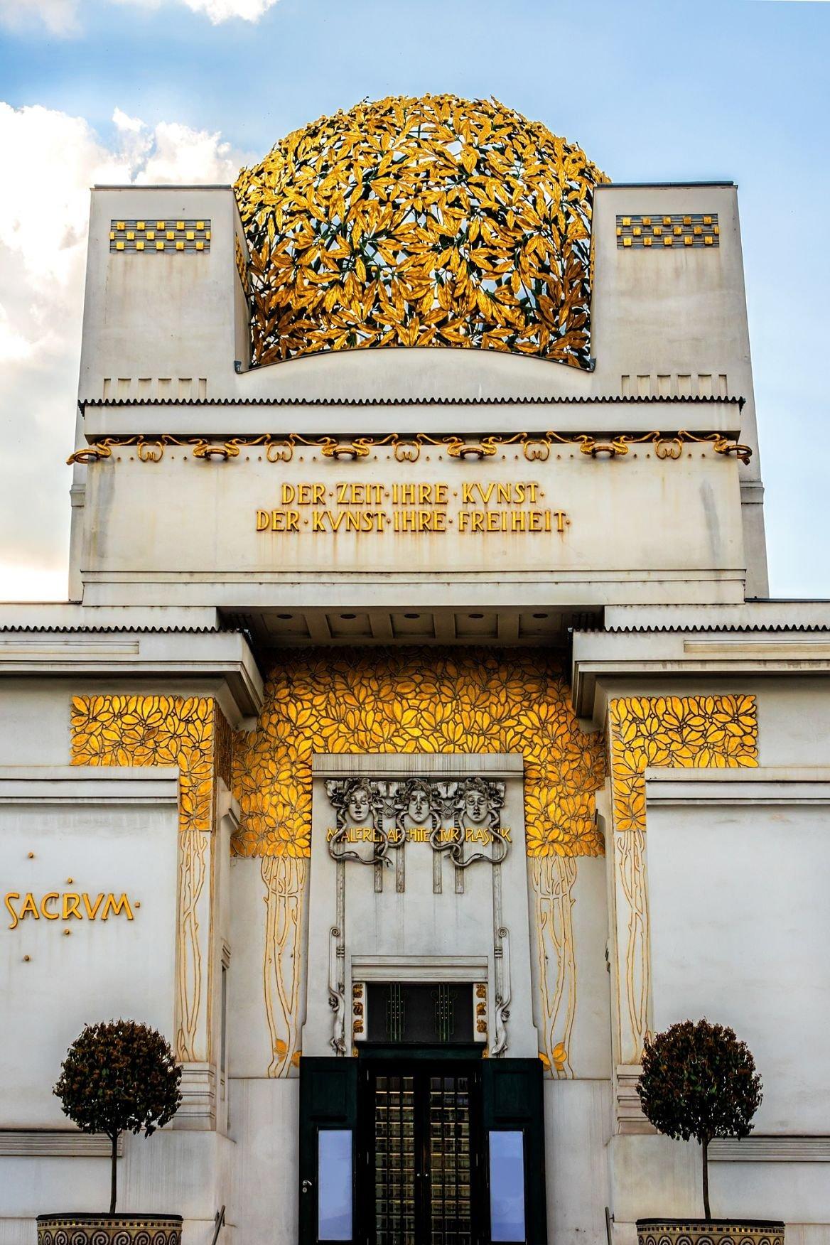 Le pavillon de la Sécession, à Vienne.