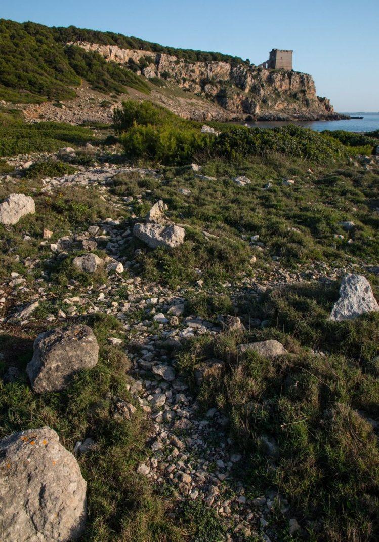 Le Parc naturel de Porto Selvaggio à Salento en Italie pouilles