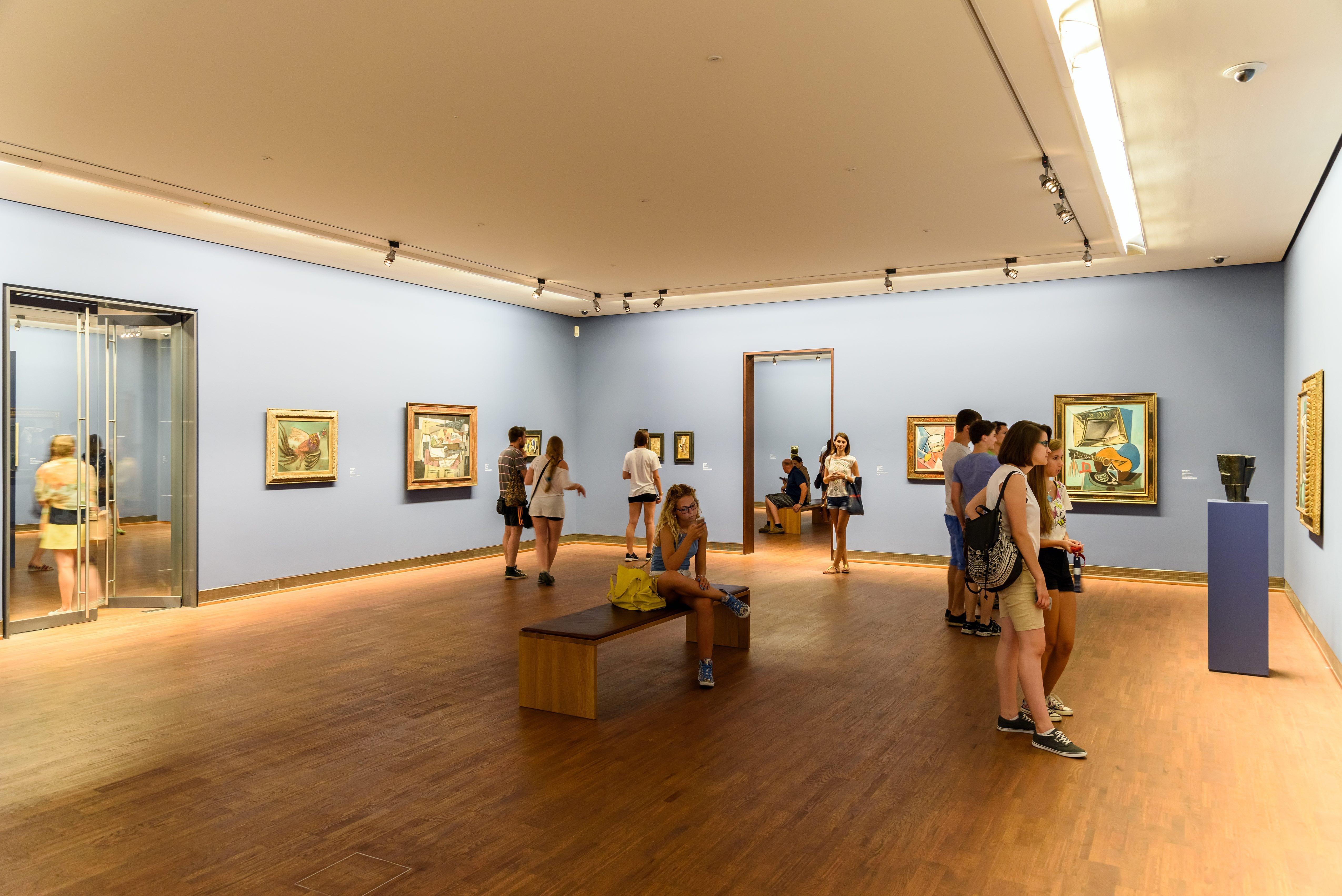 Le musée Albertina à Vienne en Autriche