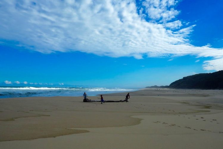 plage australie enfants