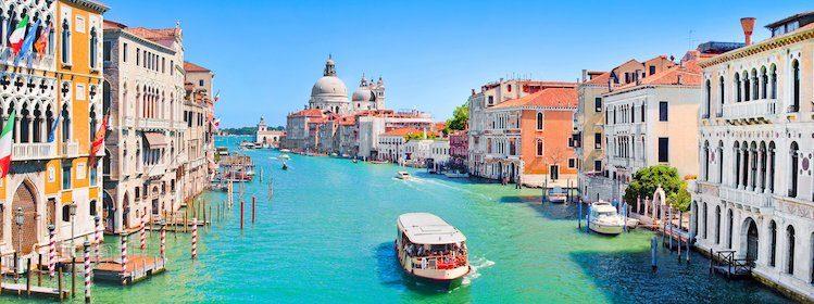 Vue sur le Grand Canal, Venise. ©canadastock/shutterstock