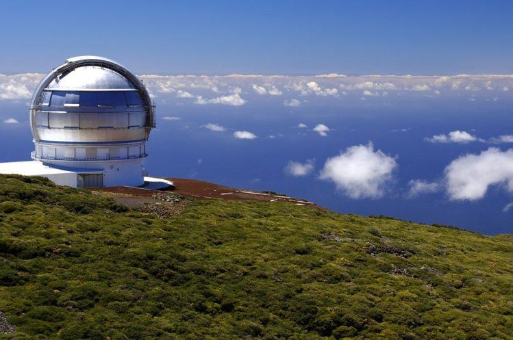 Observatoire astronomique à la Palma canaries activités