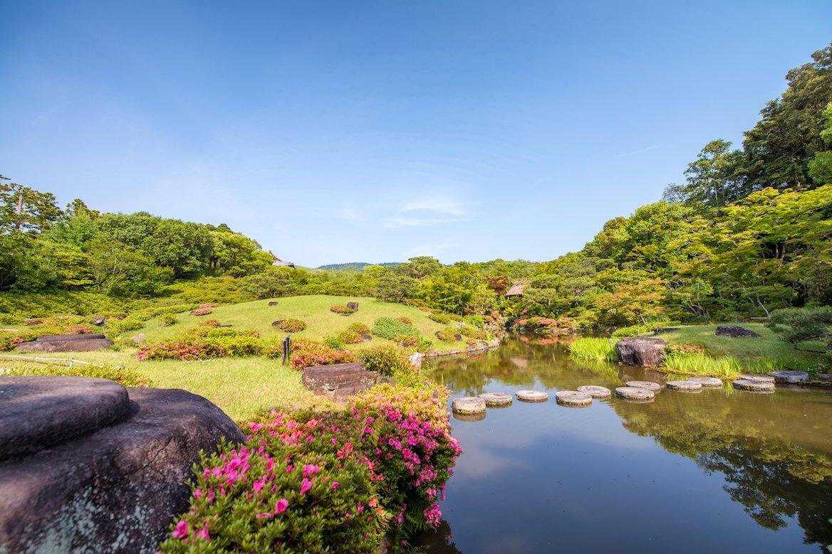 parc-jardin-Nara-Japon-Isuien