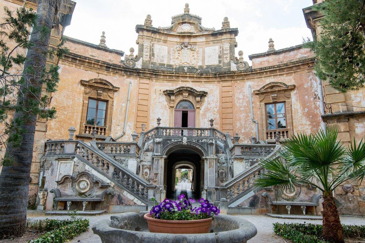 La villa Palagonia