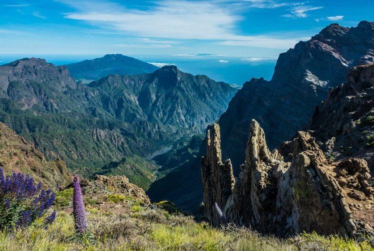 La Caldera Taburiente, La Palma, Îles Canaries