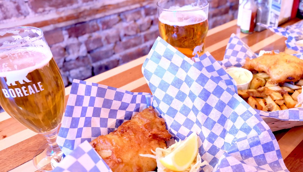 montreal-biere-canada-repas-nourriture