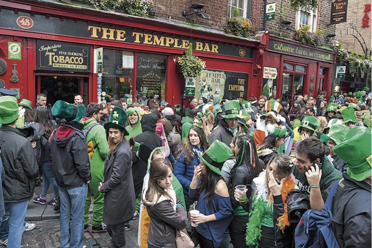 Temple Bar, Dublin, Irlande