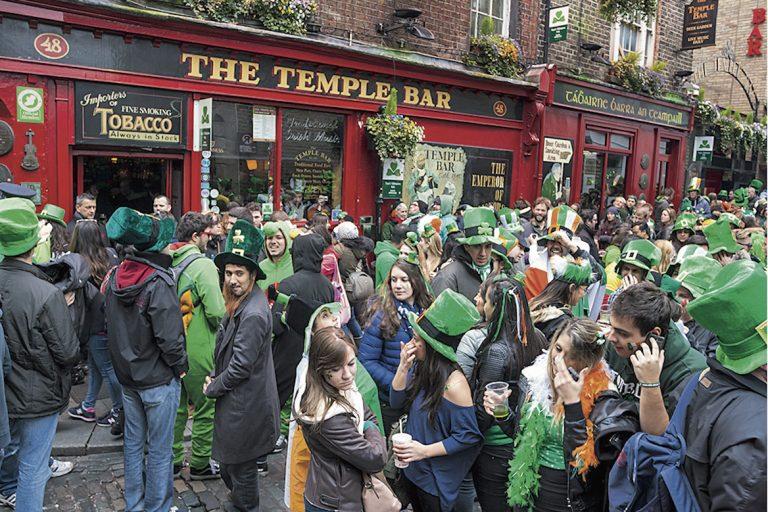 Temple Bar, Dublin, Irlande