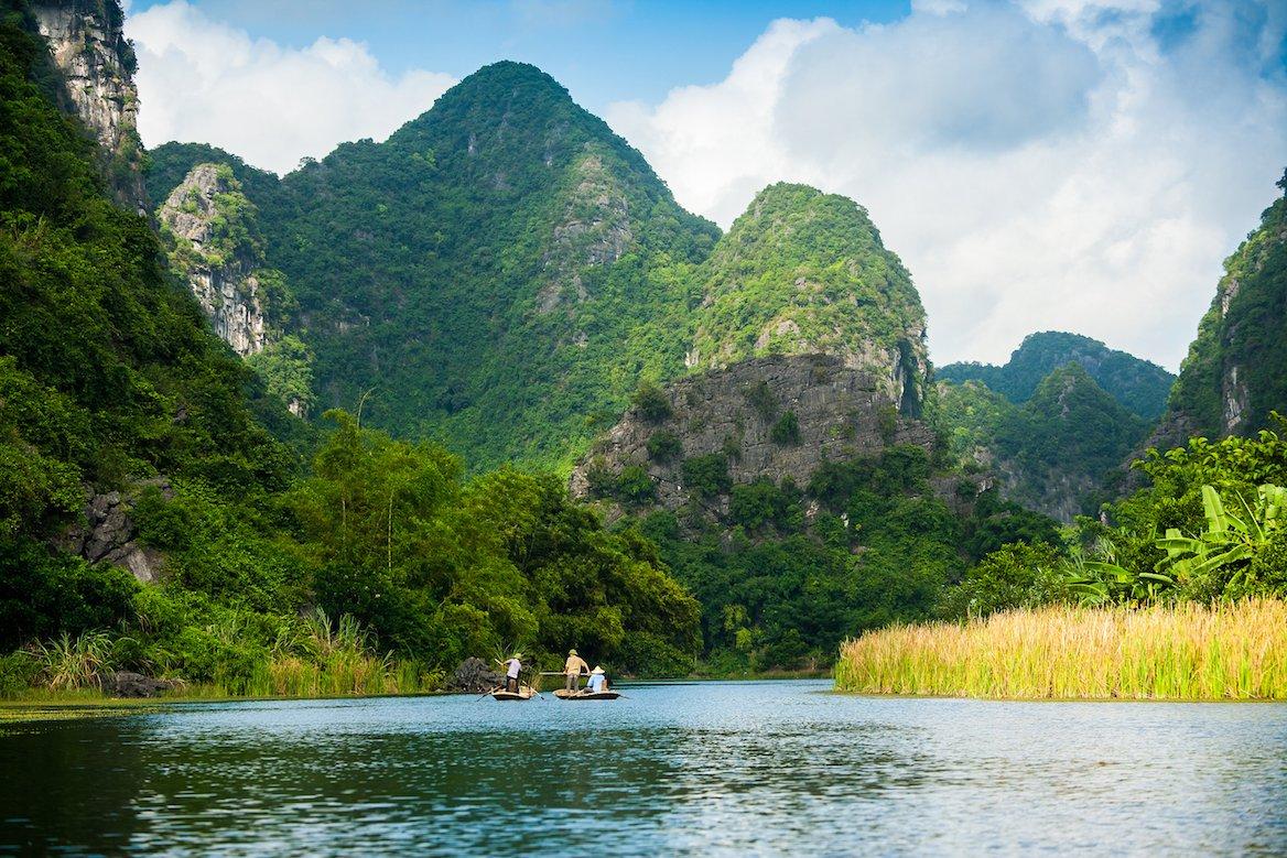 Site de Trang An, non loin de Tam Coc, Vietnam ©Tony Duy/shutterstock