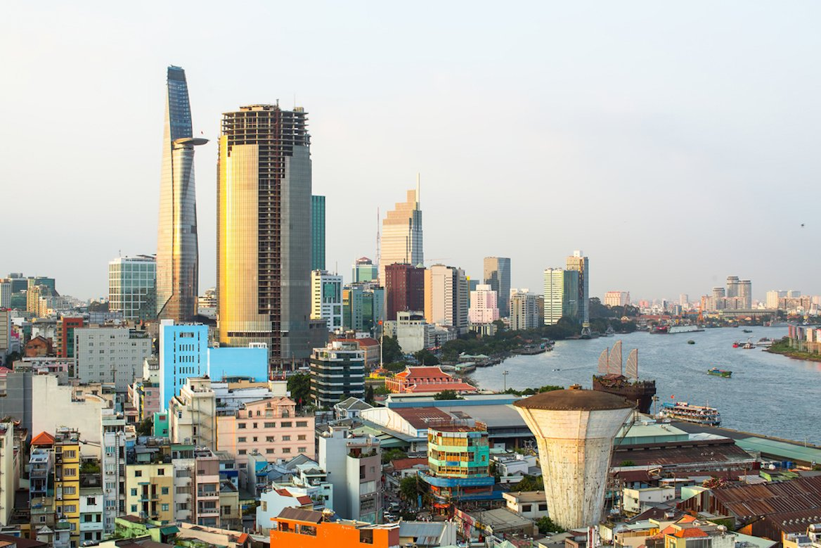 Panorama sur Hô-Chi-Minh Ville, Vietnam©De Visu/shutterstock