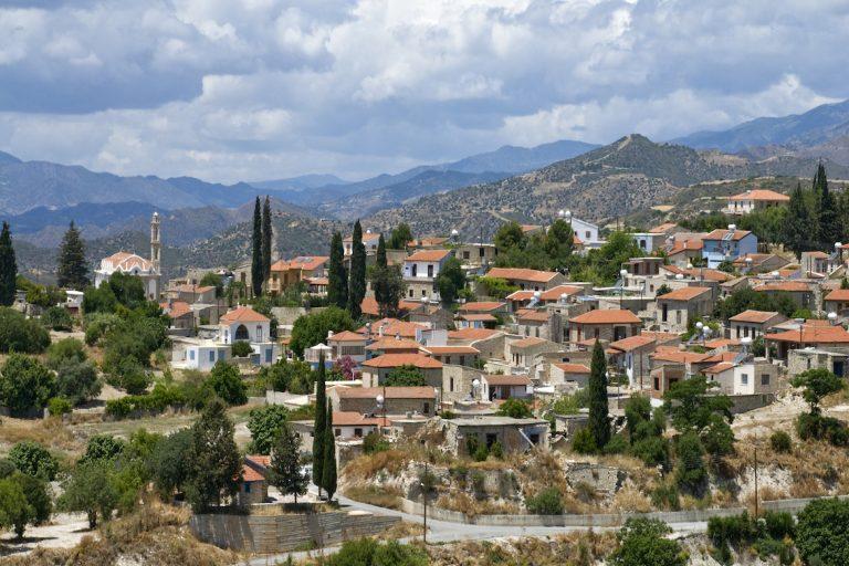 Kato Drys ville Chypre