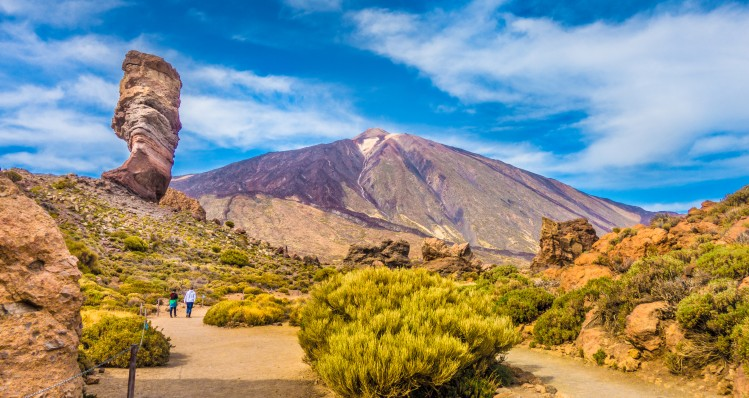 Pico del Teide et Los Roques, Tenerife, Îles Canaries