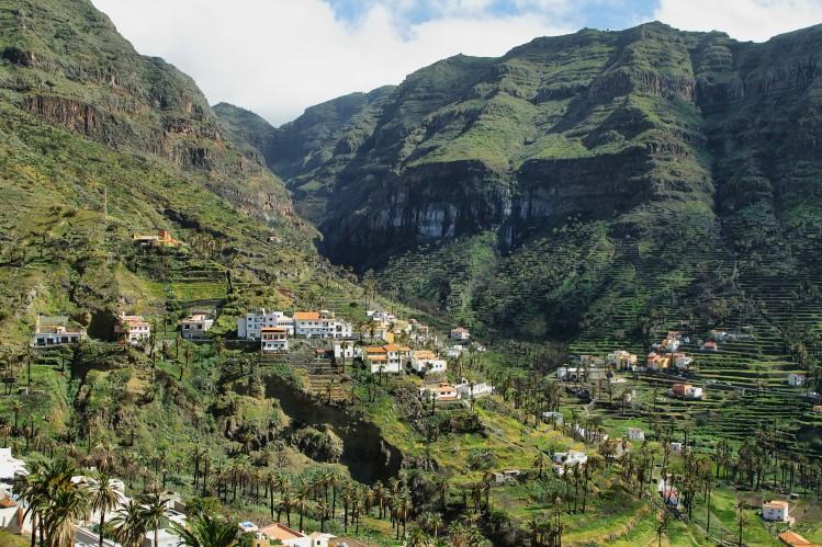Valle Gran Rey, La Gomera, Îles Canaries