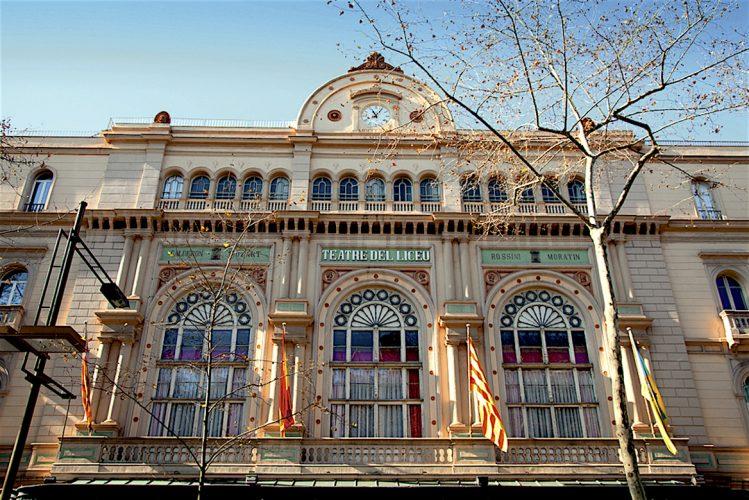 Gran Teatre del Liceu Barcelone Espagne