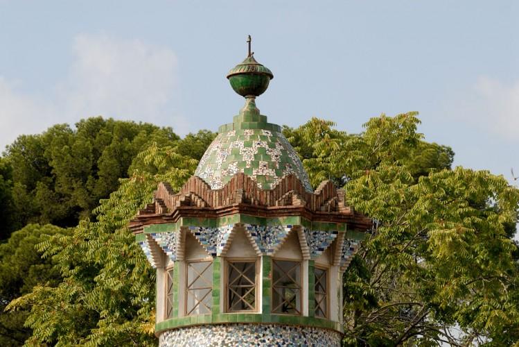Finca Güell, Gaudi, Barcelone