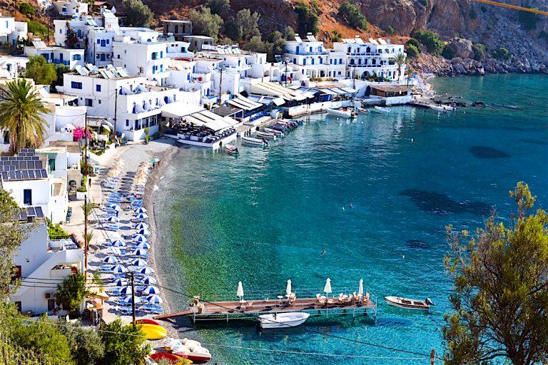 Port Loutre Crète Bateaux