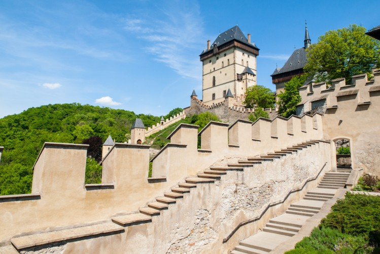 Château de Karlstejn, environs de Prague, République Tchèque