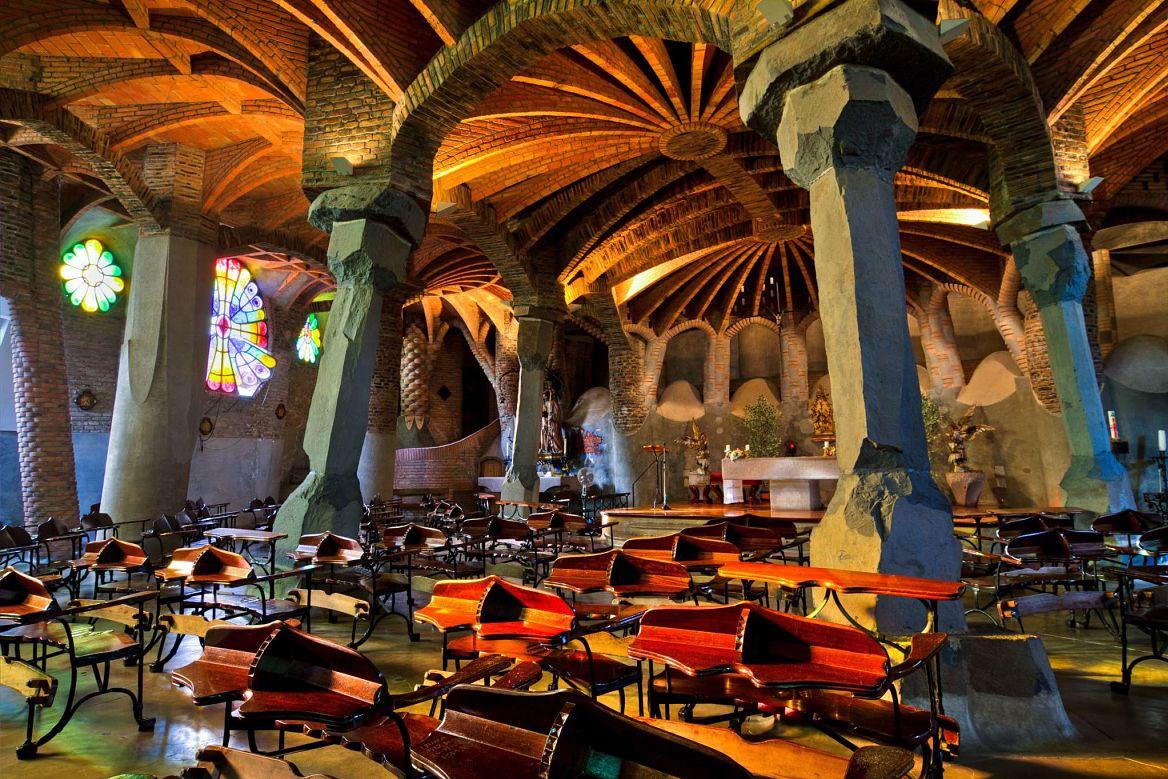 Colonia Güell, Gaudi, Barcelone