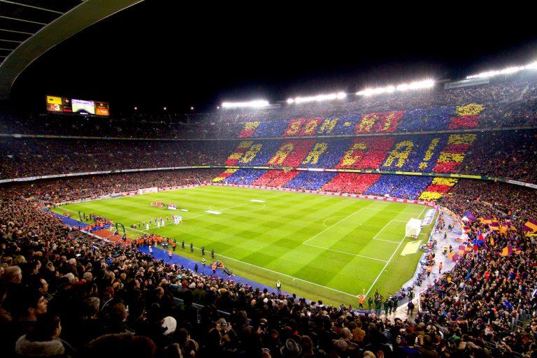 Stade Camp Nou FC Barcelona Match Espagne