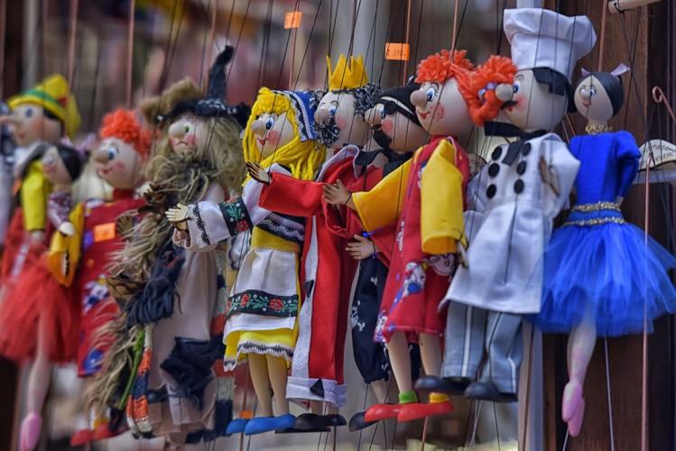 Marionnettes, souvenirs de Prague