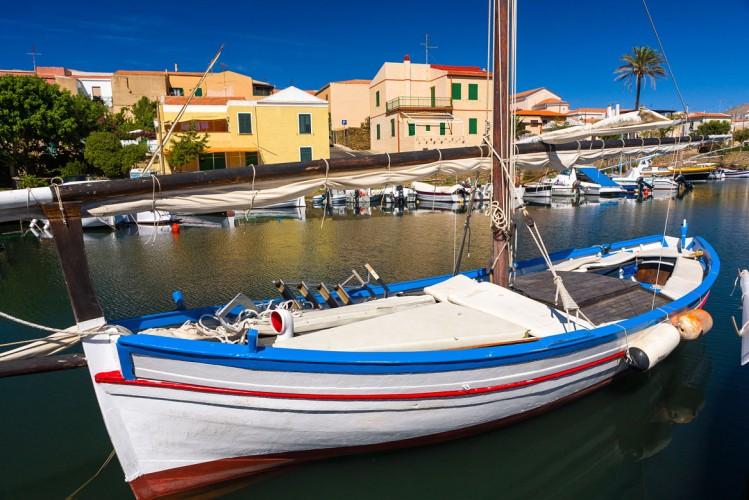 Le port de Stintino Sardaigne