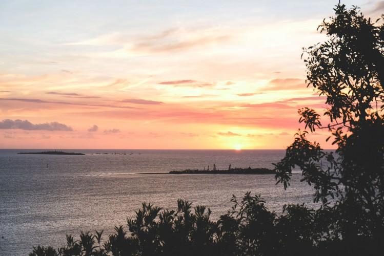Coucher de soleil -Ouen-Toro-Nouvelle-Calédonie