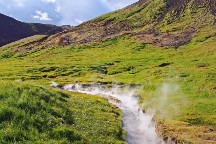 volcan Hengill Islande