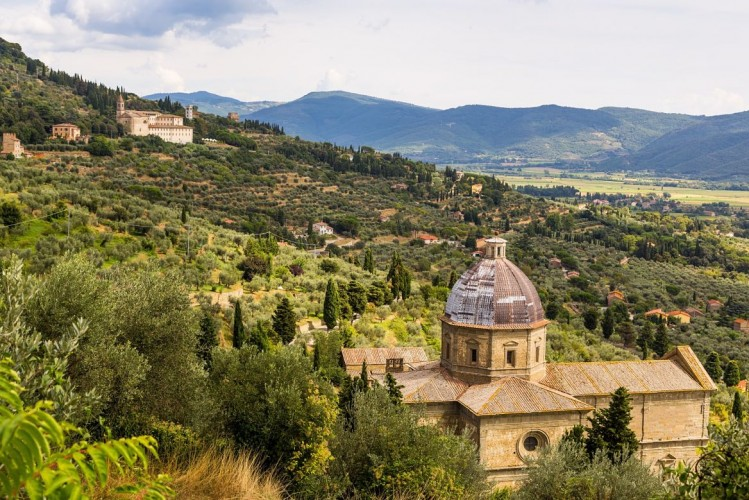 Cortone, Toscane, Italie