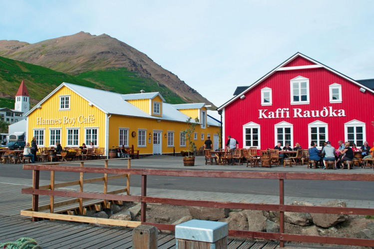 Siglufjordur Islande