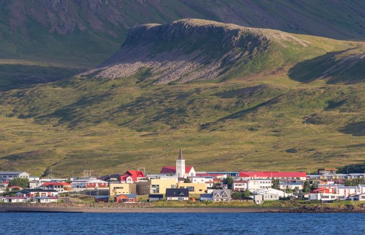 Grundarfjordur, village en Islande