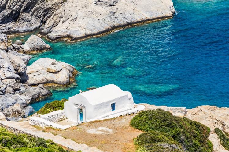 Plage de Aggia Anna, Amorgos, Cyclades