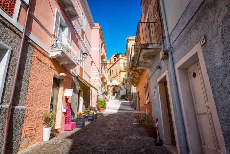 Carloforte, village de Sardaigne