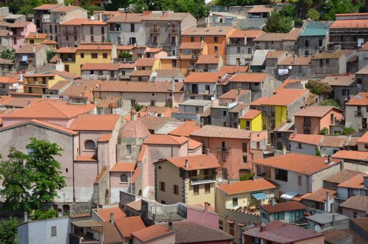 Santu Lussurgiu, village de Sardaigne