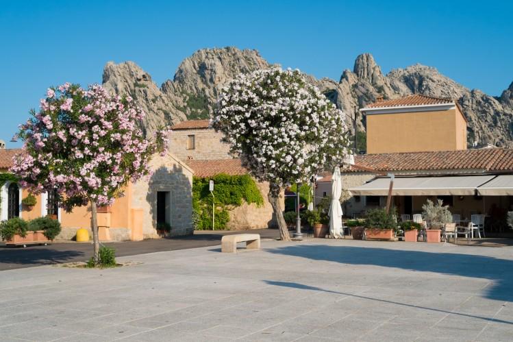 San Pantaleo, village de Sardaigne