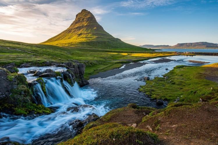 Kirkjufell, Snaefellsnes peninsula, Islande