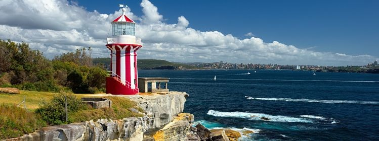 Sydney South Head lighthouse. ©Alvov/Adobe Stock