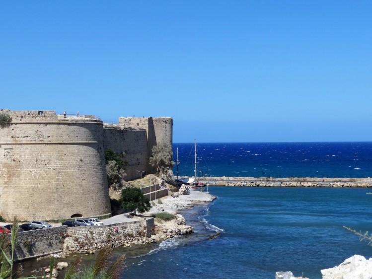 Le château de Kyrenia, Chypre Nord