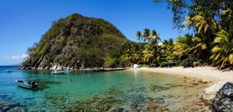 Guadeloupe plage sable