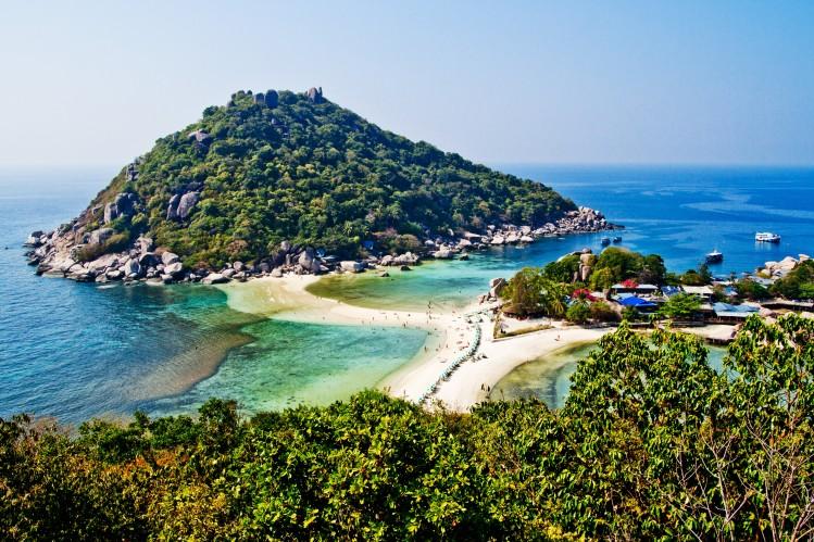thaïlande koh tao île plongée