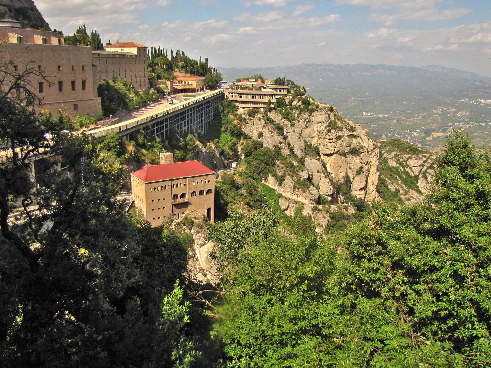 Espagne Catalogne Montserrat montgane
