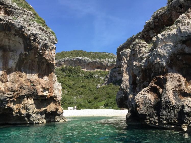 Vis Stiniva Croatie gratuit
