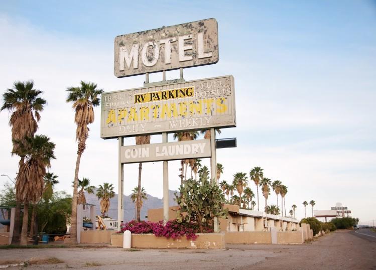 motel états-unis road trip