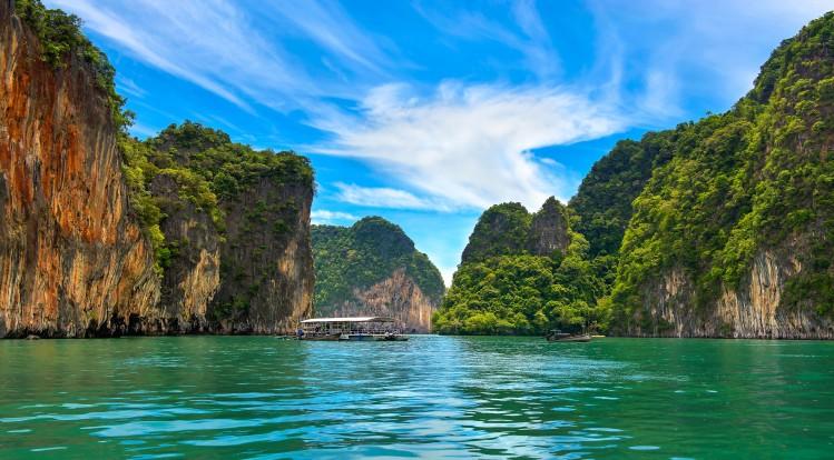 mer thaïlande île