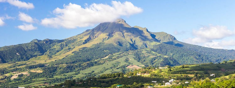 Martinique: à l'assaut de la montagne Pelée