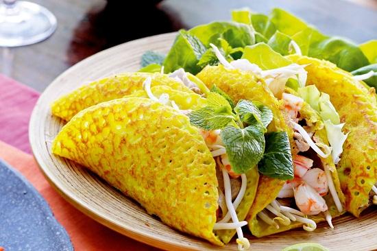 Bánh xèo crêpe vietnam