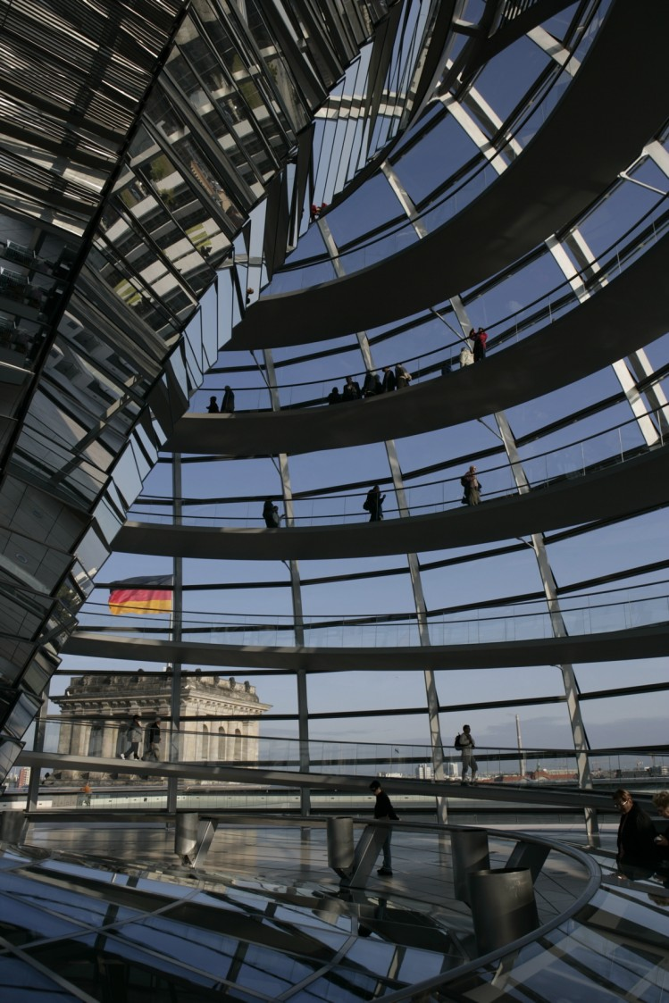 reichstag berlin coupole vue