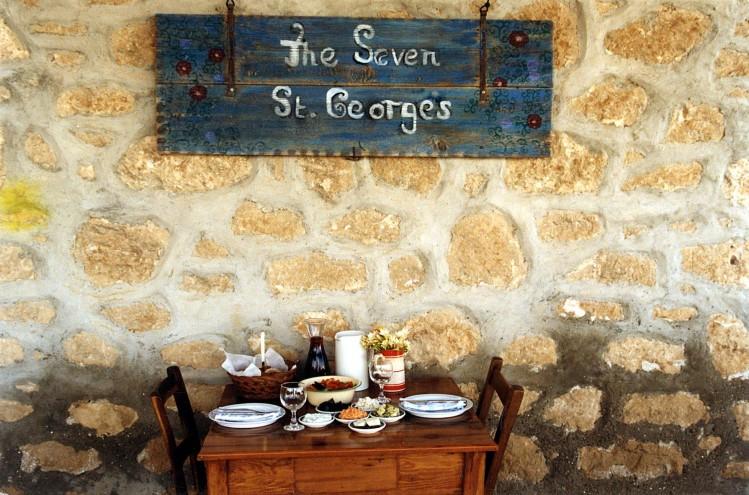 yedi aziz georges restoran kıbrıs mezze