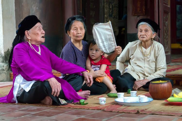 fête vietnam chant