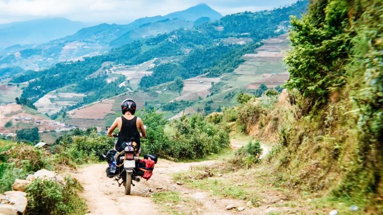 moto vietnam campagne
